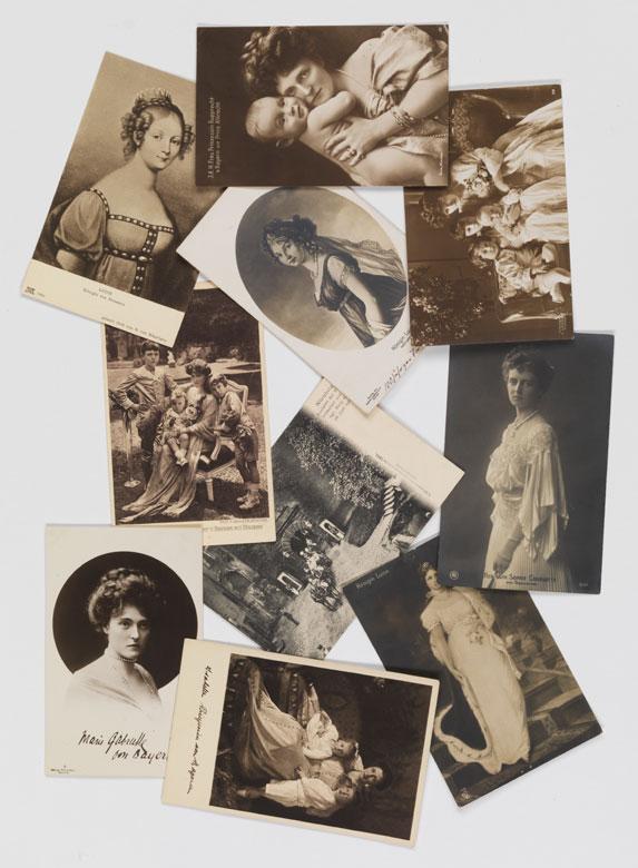 Konvolut von zehn alten Postkarten