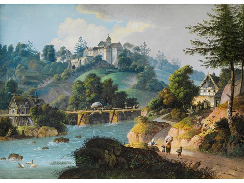 Anton Lohmann, Maler des beginnenden 19. Jahrhunderts