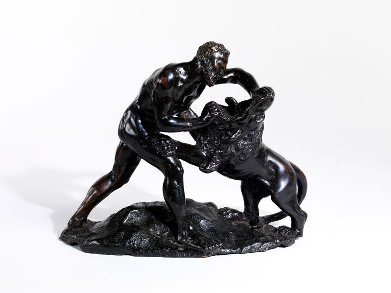 Samson mit dem Löwen