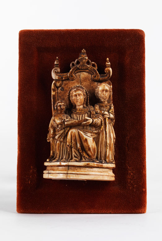 Elfenbein-Figurengruppe der Heiligen Familie