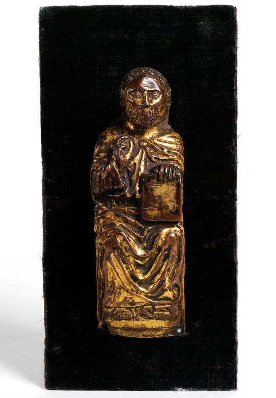 Relieffigur eines Heiligen (Moses)