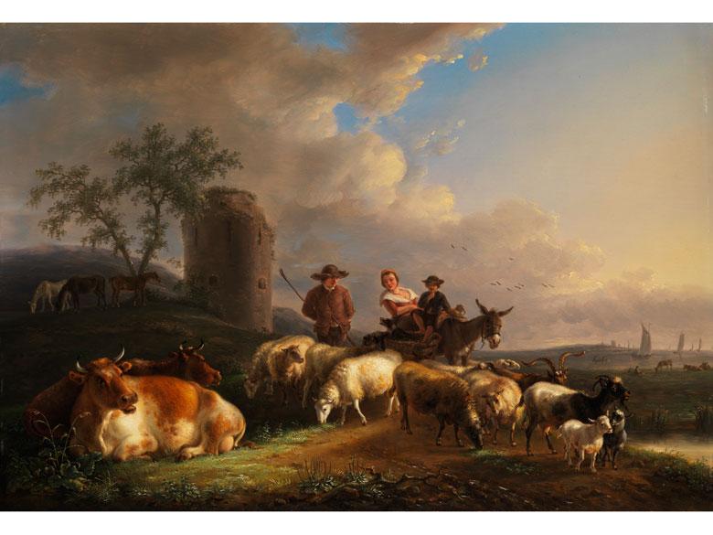Jean-Baptiste de Roy, 1759 Brüssel - 1839, Maler im Kreis von Verboeckhoven
