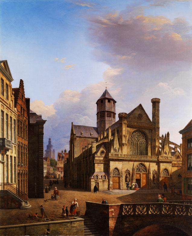 Pierre François de Noter, 1779 Waelhem - 1843 Gent, Maler im Umkreis von Verboeckhoven