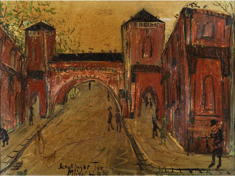 Stefan Vucmanovic, 1924 Belgrad
