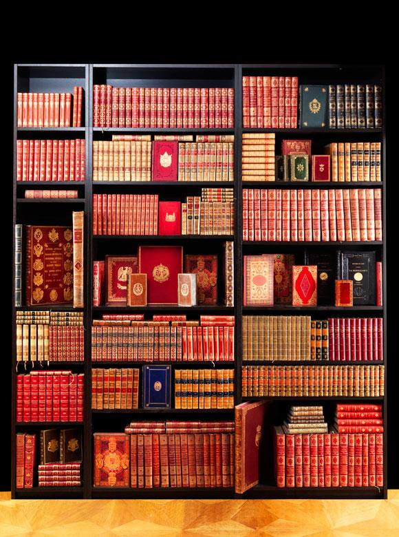 † Bibliothek No. 4 Zweite Hälfte des 19. Jahrhunderts sowie einige Bände des ausgehenden 18. und des beginnenden 20. Jahrhunderts