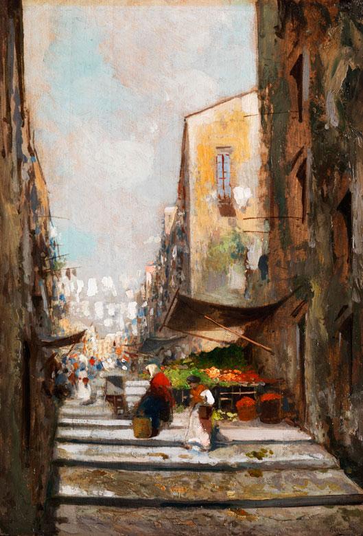 Oscar Riccardi, 1864 Neapel - 1935