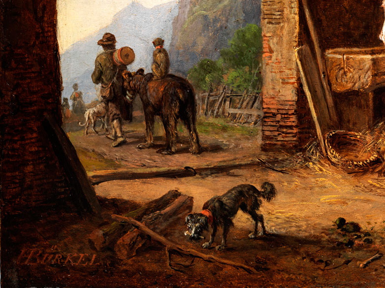 heinrich bürkel 1802 pirmasens 1869 münchen bedeutender maler