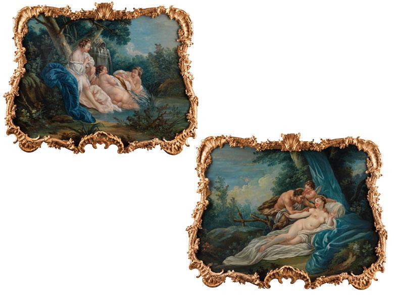 François Boucher, Maler des ausgehenden 18. Jahrhunderts, in der Art von