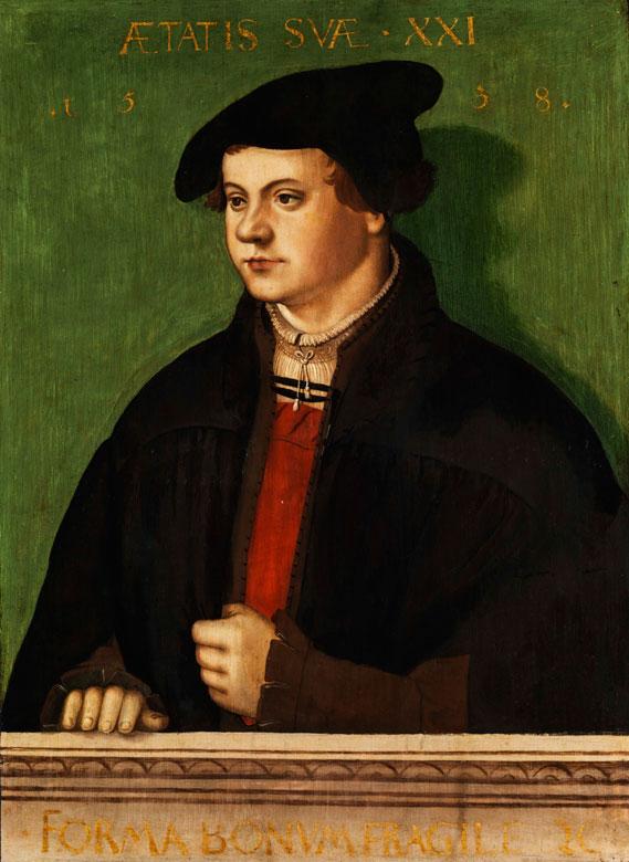 Hans Brosamer, um 1500 Fulda - um 1554 Erfurt, zug.