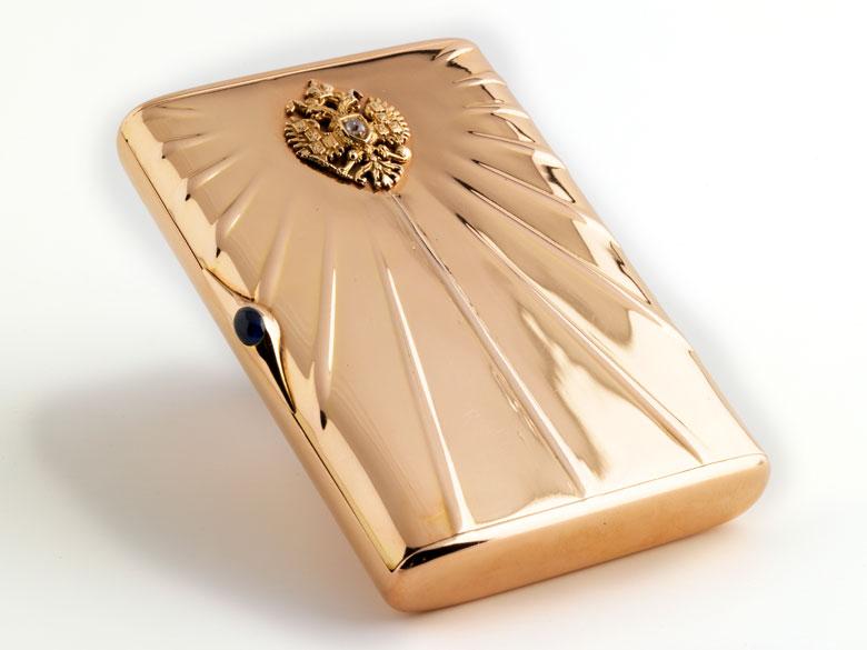 Russische Golddose