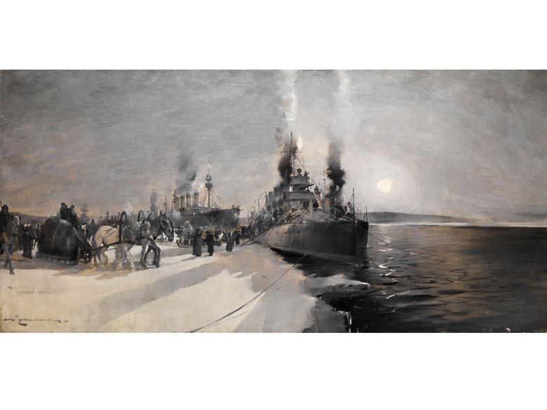 An. Johanson, Nordischer Maler des 19./ 20. Jahrhunderts