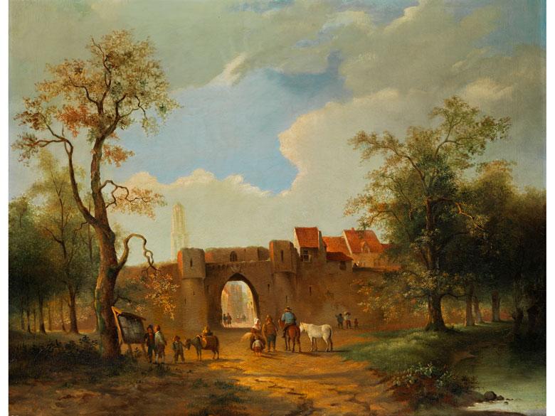 Niederländischer Maler der Zeit um 1800