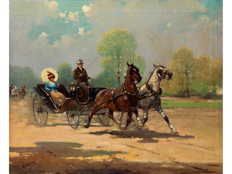 L. Lasky, Maler des beginnenden 20. Jahrhunderts