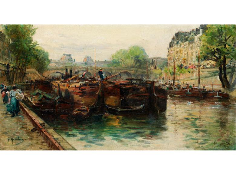 † Gustave Madelain, 1867 Charly / Aisne - 1944