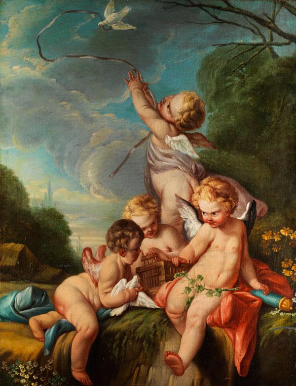 † François Boucher, 1703 Paris - 1770 Werkstattnachfolge/ Umkreis des