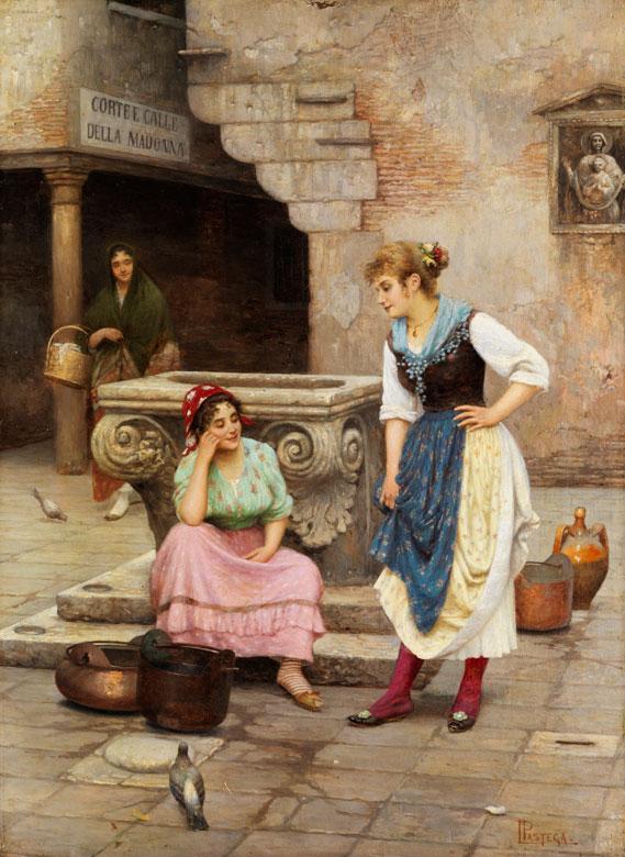 † Luigi Pastega, 1858 Venedig - 1927