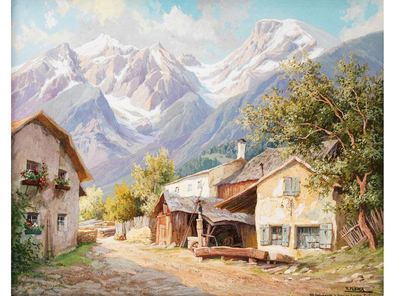 † Anton K. Flieher, 1800 Untermais - 1880