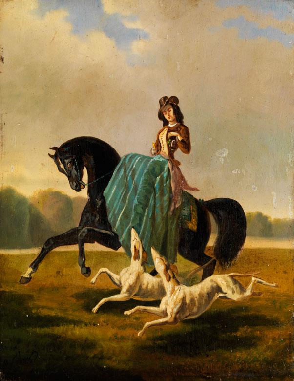 † Alfred De Dreux (oder Dedreux), 1810 Paris - 1860 Paris