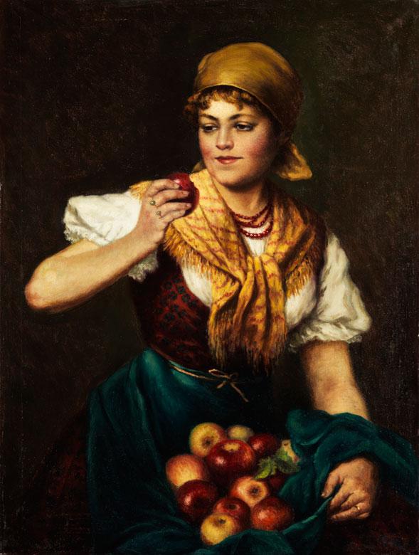 Deutsch-österreichischer Maler im Stilumkreis/ Nachfolge von Eugen von Blaas