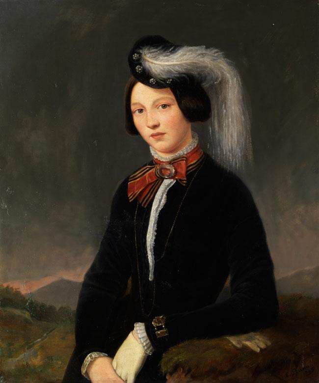 C. Pfann, Deutscher Maler des 19. Jahrhunderts