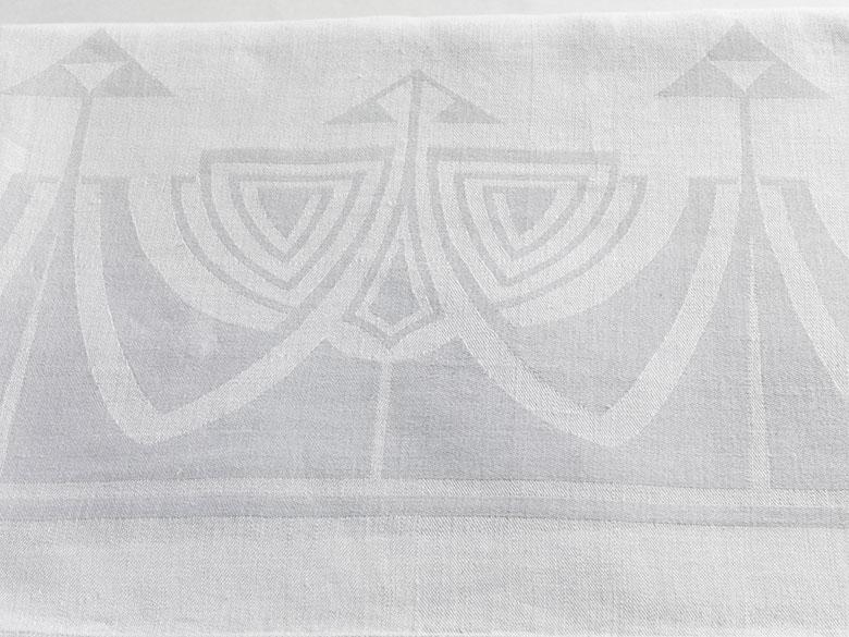 Tafeltuch mit Jugendstil-Muster aus dem Palais Prinz Alfons von Bayern