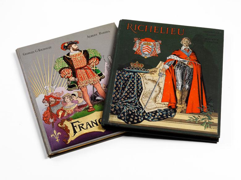 Zwei Bücher: Richelieu und François I.