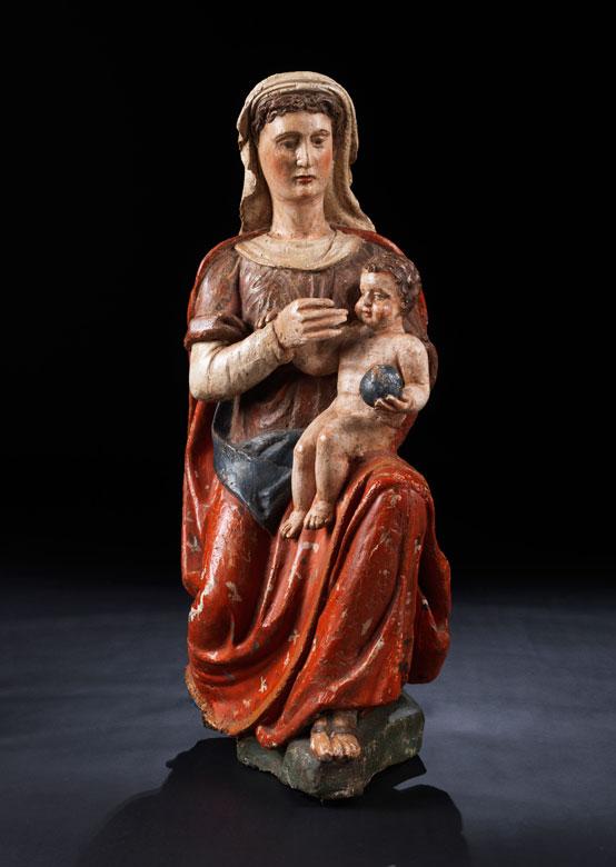 Italienische Madonna mit Kind