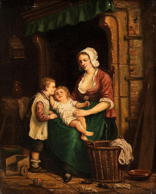 Adrien Ferdinand de Braekeleer, 1818 Antwerpen - 1904 Borgerhout