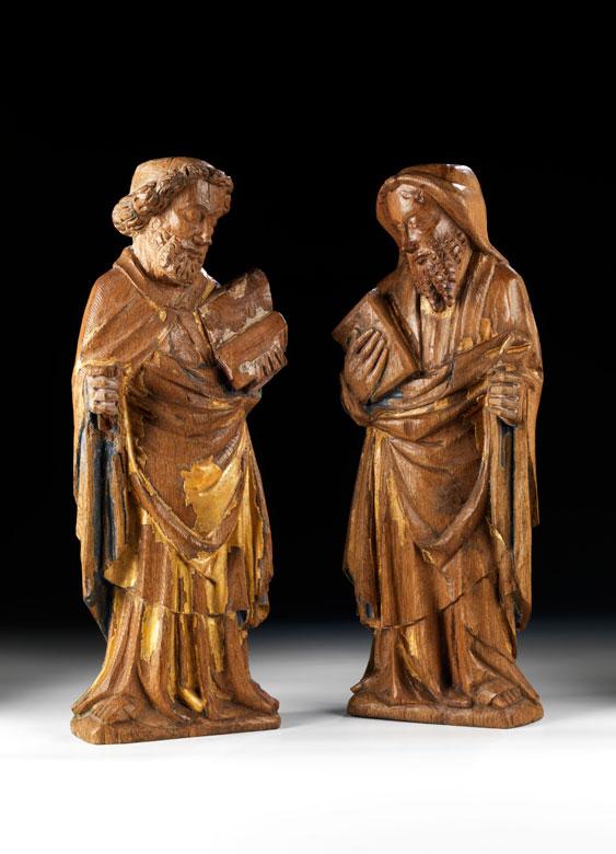 Paar Apostelfiguren