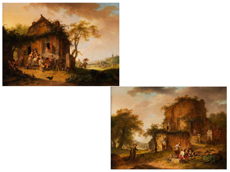 Hendrik de Meyer, 1737 - 1793 Holland