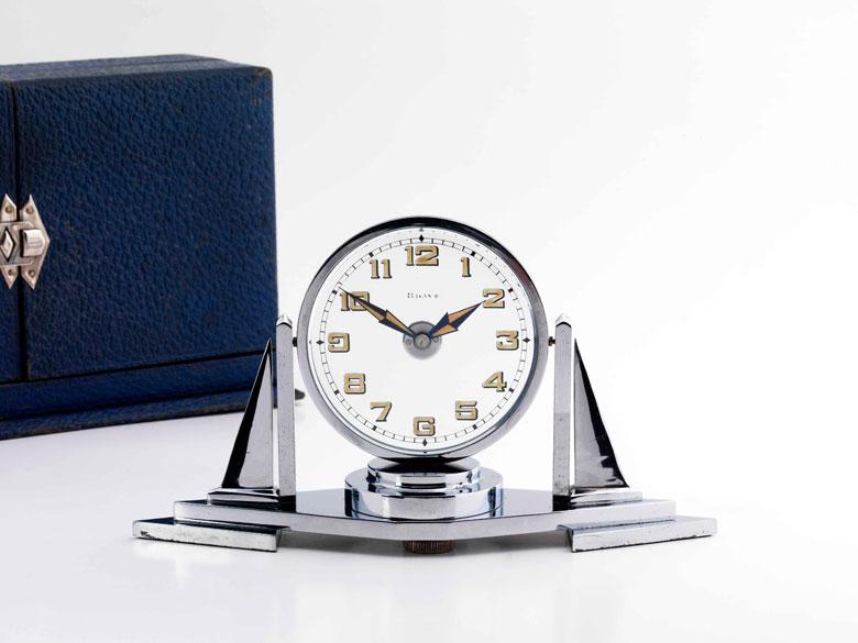 Pendulette Misterieuse Art Deco