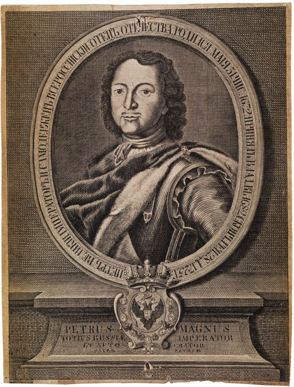 Phillipp Jegorovich Matternovy, 1716 - 1742