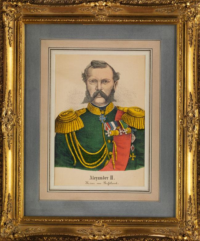 Imperator Alexander II., Kaiser von Russland