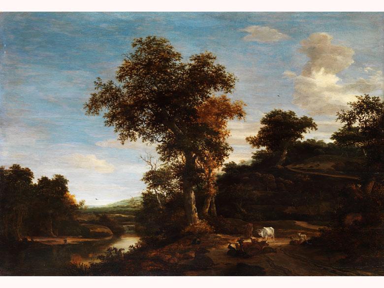 Jacob Salomonsz van Ruisdael, 1628 – 1682, zug.
