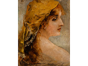Detail images:  Jasinski, Maler des 19. Jahrhunderts
