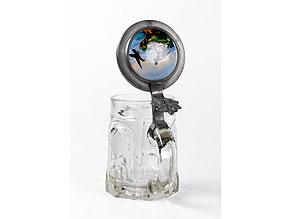 Detail images:  Bierkrug in Pressglas