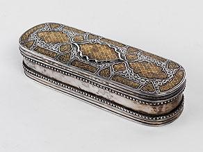 Detail images:  Orientalische Silberdose