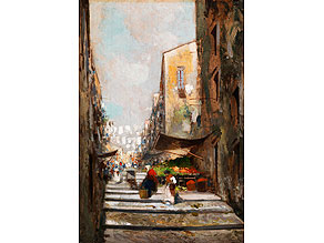 Detail images:  Oscar Riccardi, 1864 Neapel - 1935