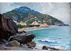 Detail images:  Luca Albina, 1884 Maiori, Amalfi - nach 1923 Amalfi