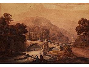 Detail images:  Barend Cornelis Koekkoek, 1803 Middelburg - 1862 Kleve