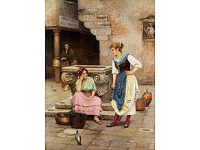 Detail images:  † Luigi Pastega, 1858 Venedig - 1927