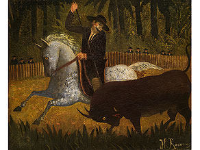 Detail images:  Henri Rousseau, 1844 - 1910 Paris