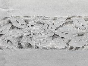 Detail images:  Tafeltuch aus dem Palais Prinz Alfons von Bayern