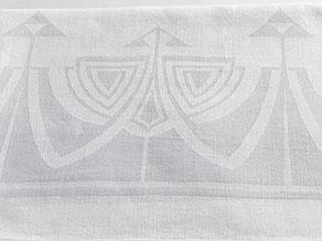 Detail images:  Tafeltuch mit Jugendstil-Muster aus dem Palais Prinz Alfons von Bayern