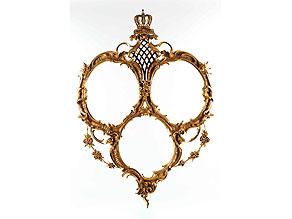 Detail images:  Bilderrahmen als Hochzeitsgeschenk des Bruders der Braut Louise von Bourbon-Orleáns, Herzog Emanuel von Vendome