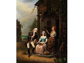 Detail images:  Jean Henri de Coene, 1798 - 1866 Brüssel