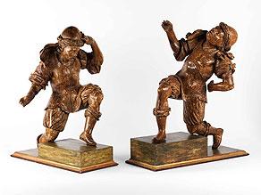 Detail images:  Zwei Krieger