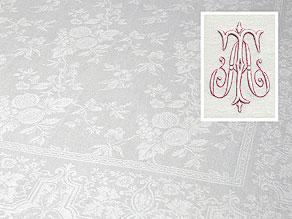 Detail images:  Großes Tafeltuch mit Granatäpfeln und Wein