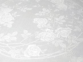 Detail images:  22 Mundtücher mit prächtigem Rosenmuster und Monogramm M