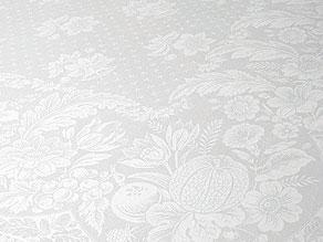 Detail images:  Biedermeier-Tafeltuch mit Blüten und Früchten